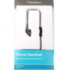 Auricular Blackberry mono jack 3.5 mm