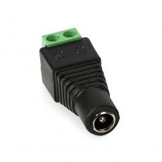 Conector rápido Socket DC 2.1/5.5 mm