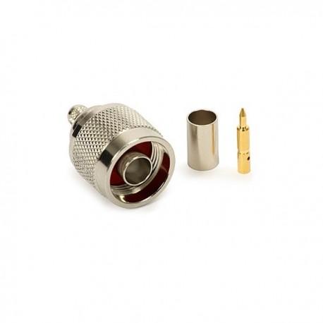 N macho para cable tipo 240 y H155 (6GHz)