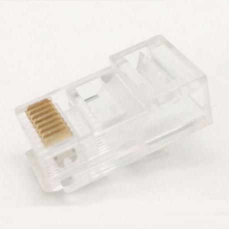 Conector RJ45 Categoría 6 Cable passante