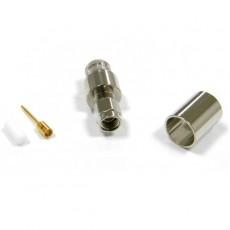 Conector SMA macho crimpar cable RG213/LMR400
