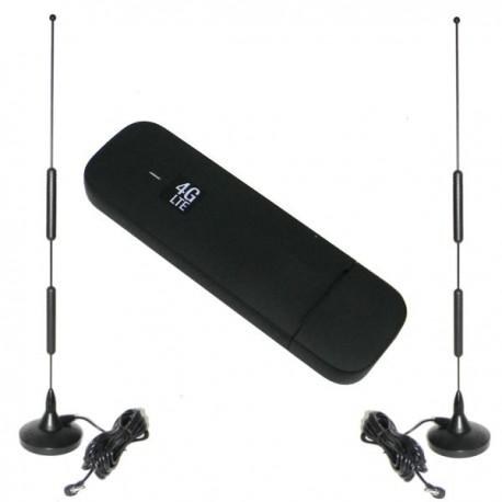 Modem Huawei E3372h 4G LTE con 2 antenas CRC9