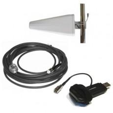 Kit amplificador 3G 4G para modem usb 11 dBi
