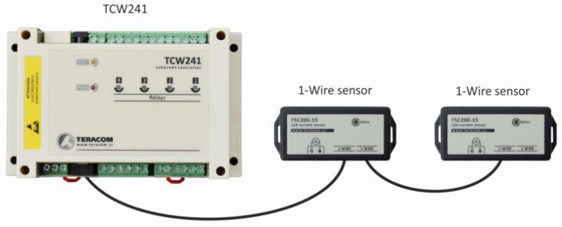 Conexión de sensores