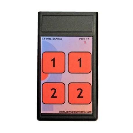 Emisor Telemando 433 MHz TX-MC 2C
