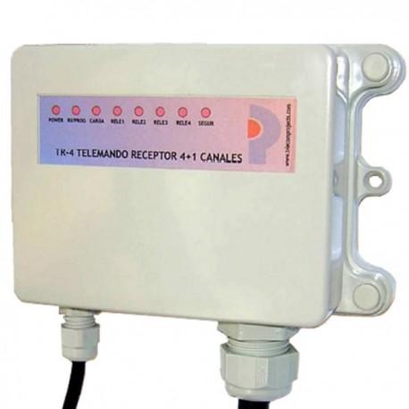 Receptor Telemando 4 C+1 TR-4 433 MHz