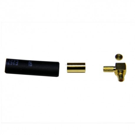 Conector Mmcx macho acodado RG174