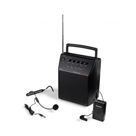 Amplificador portátil 20W con microfono sin hilos