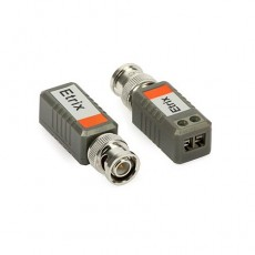 Balun Transmisor/receptor de vídeo BNC 2 ud.