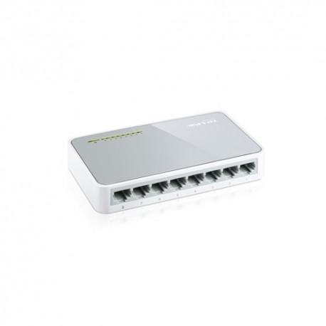 Switch sobremesa 8 puertos 10/100 Mbps