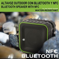 Altavoz Bluetooth 3.0 con NFC para exterior