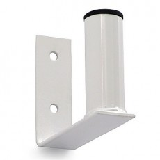 Soporte antena pared blanco