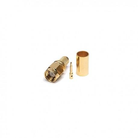 SMA macho para cable tipo 240 y H155