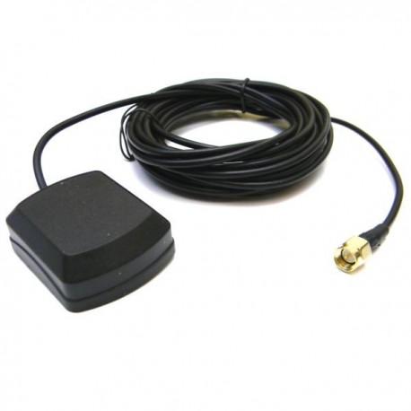 Antena magnética Gps 28 dB