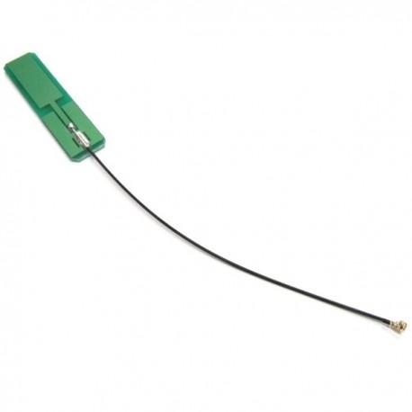 Antena interna PCB Wifi 2,4 y 5,2 GHz 140 mm U.FL