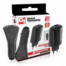 Kit cargadores GT 3 en uno micro USB