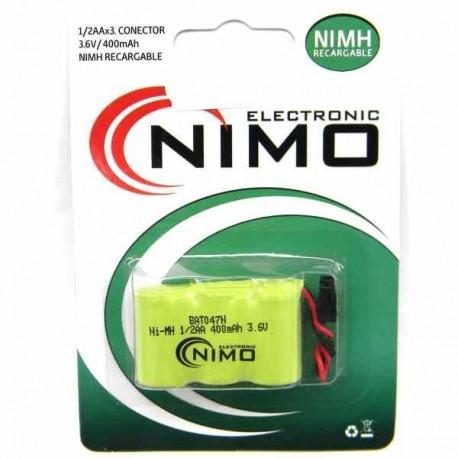 Batería nalámbrico 3,6V 400 mAh