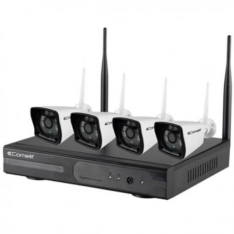 Kit CCTV Wifi 4 cámaras NVR HDD 1TB