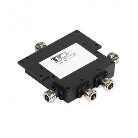 Splitter - divisor de señal de 4 vías