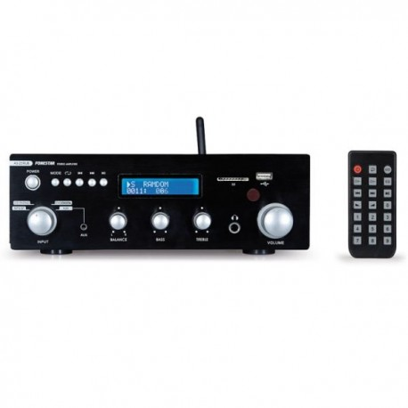 Amplificador 30+30W Radio FM Bluetoth USB/SD/MP3
