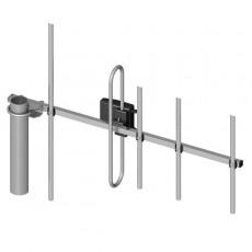 Antena Yagi 400 a 470MHz 6dBi 5 elementos