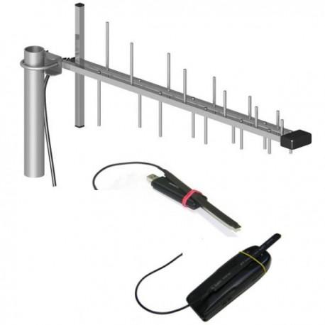 Kit amplificador pasivo para móvil y modem USB