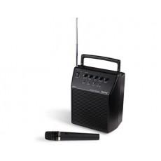 Amplificador portátil 20W con micrófono sin hilos de mano