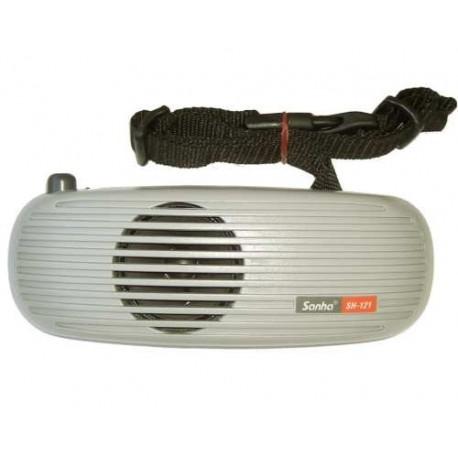 Amplificador de cintura con micrófono