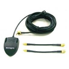 Antena Activa GPS ZAAPA conector MMCX, MCX y SMA