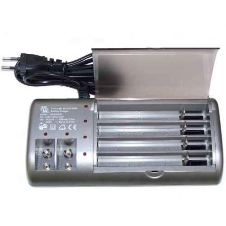 Cargador de baterías universal Ni-Cd & Ni-Mh