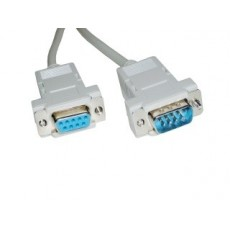 CABLE SERIE RS232 DB9-HEMBRA A DB9 MACHO 5 MTS