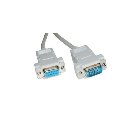 CABLE SERIE RS232 DB9-HEMBRA A DB9 MACHO 15 MTS