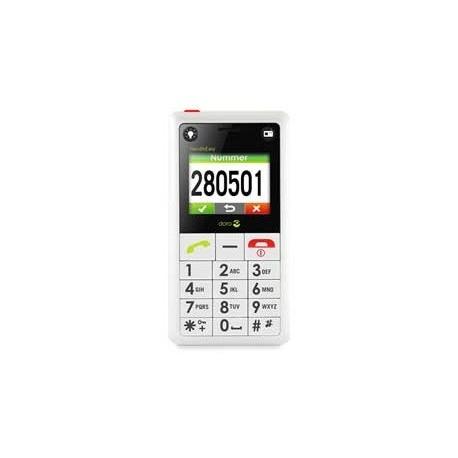 Teléfono libre DORO 330 con botón de emergencia